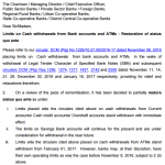 No limits on cash withdrawals through ATMs from February 1 – RBI