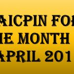 AICPIN for the month of April 2017