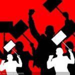 Clerical employees stage protest over pay anomaly