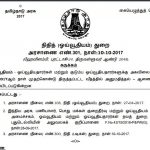 Tamil Nadu 7th Pay Commission : Dearness Allowance to the Pensioners and Family Pensioners from 1st July (Tamil Version included)