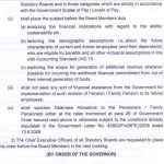 PENSION for  Statutory Boards : revision of Pension / Family Pension and Retirement Benefits to retired Tamil Nadu Government employees
