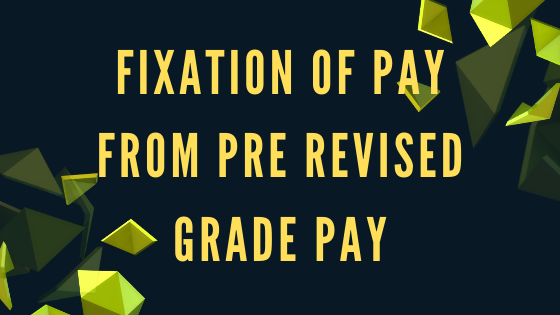 Fixation of Pay